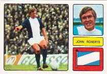 JOHN ROBERTS 1973-74 BIRMINGHAM