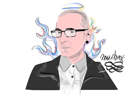 """Check out new work on my @Behance portfolio: """"#Chester Bennington Ilustraitor"""" http://be.net/gallery/55935389/Chester-Bennington-Ilustraitor . - portafolio de ilustraciones a full"""