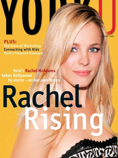 Amazing Alumni: Rachel McAdams