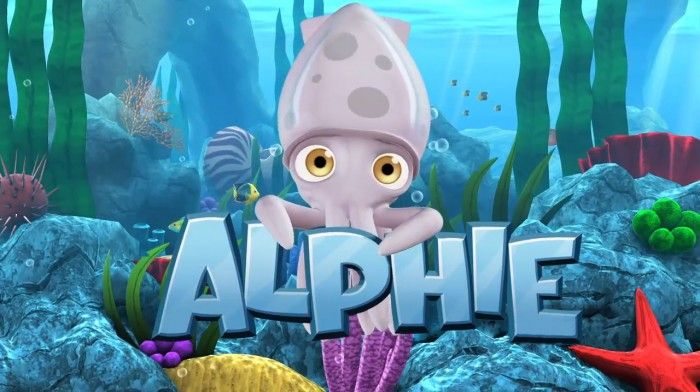 Alphie the Squid game (app)  #ProductReviewParty