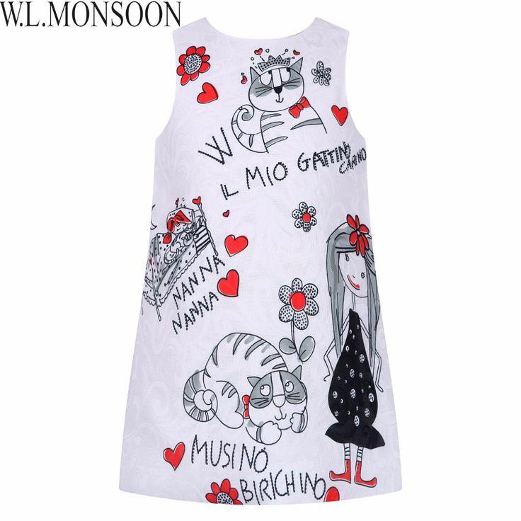 $9.35 (Buy here: https://alitems.com/g/1e8d114494ebda23ff8b16525dc3e8/?i=5&ulp=https%3A%2F%2Fwww.aliexpress.com%2Fitem%2FMilan-Creations-Princess-Dresses-Girls-Clothes-2016-Brand-Baby-Girls-Dress-Summer-Floral-Pattern-Kids-Dresses%2F32591770767.html ) Princess Dress for Girls Clothes Character Printed Robe Fillette Costumes for Children Clothing 2017 Brand Girls Dresses Kids for just $9.35