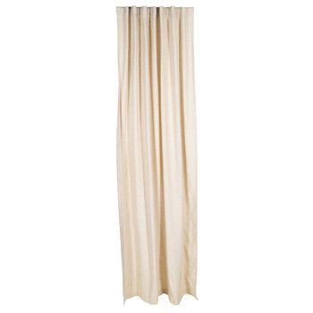 "Natural Curtain Panel with Hidden Tabs - 54"" x 96"""