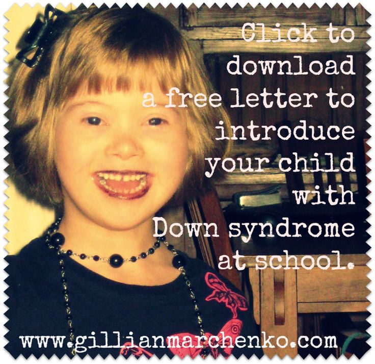 How to introduce children with Down Syndrome to school