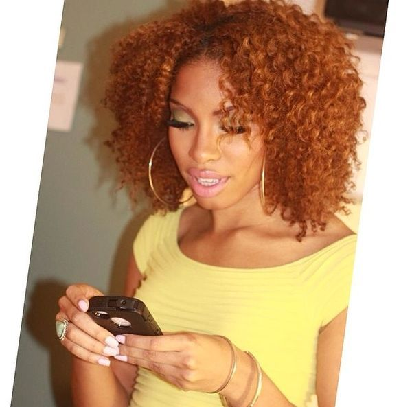 Strawberry Blondes Haar Dyed Natural Hair Natural Hair Styles Hair Color For Black Hair