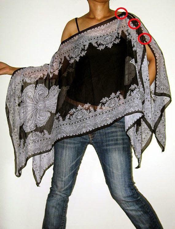 yo elijo coser: DIY: un idea con 2 pañuelos