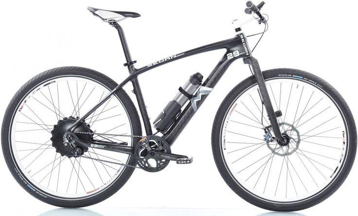 leichtes e bike m1 sedan one wiegt 16 kg bikes und co. Black Bedroom Furniture Sets. Home Design Ideas