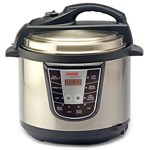 Cooks Electric Pressure Cooker ~ Cooks professional in programmable electric pressure