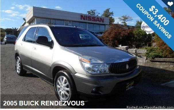 2005 BUICK RENDEZVOUS / $3,400 IN COUPONS ! Savings available!!