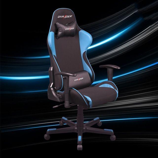 Dxracer FE11 компьютерный стул офисный стул игровой E за-спортивной рабочий стул ткань + искусственная эргономичный дизайн