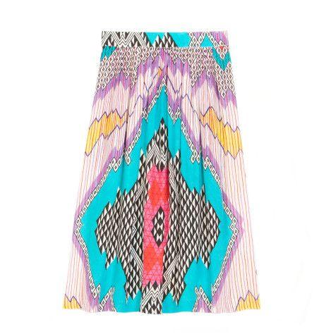 Gorman Kate Kosek Isometric Skirt.