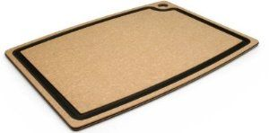 """Epicurean 003-201501025EA Cutting Board w/ Juice Groove, 20 x 15-in, Natural/Slate, Each by Epicurean. $74.99. Epicurean 003-201501025EA Cutting Board w/ Juice Groove, 20 x 15-in, Natural/Slate. Gourmet Series Cutting Board, 20 X 15"""", with a 3/8"""" profile, natural surface with slate trim. Equipped with a juice groove on one side and a flat prep surface on the other. This is a heavier weight cutting board but is still easy to handle, clean and store. Epicurean cutting boards ar..."""