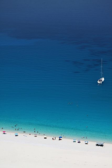 Myrtos beach, Kefalonia island ~ Greece