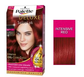Schwarzkopf Palette Deluxe Intensive Oil Care Color Intensive Red 6-888