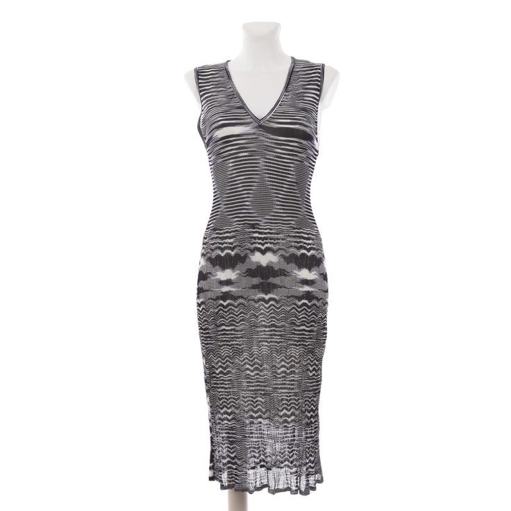 Luxuriöses Kleid von Missoni in Blau Gr. S - wie Neu