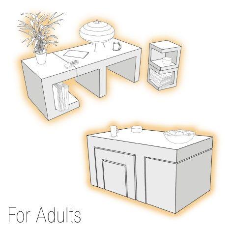 17 Best Images About Transforming Furniture On Pinterest Futon Mattress Space Saving