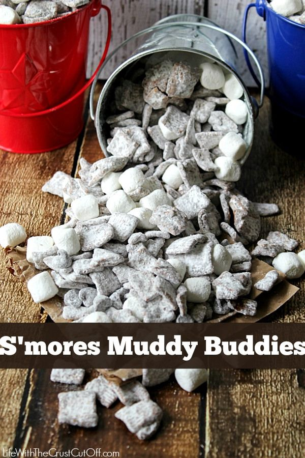 S'more Muddy BuddiesLife With The Crust Cut Off
