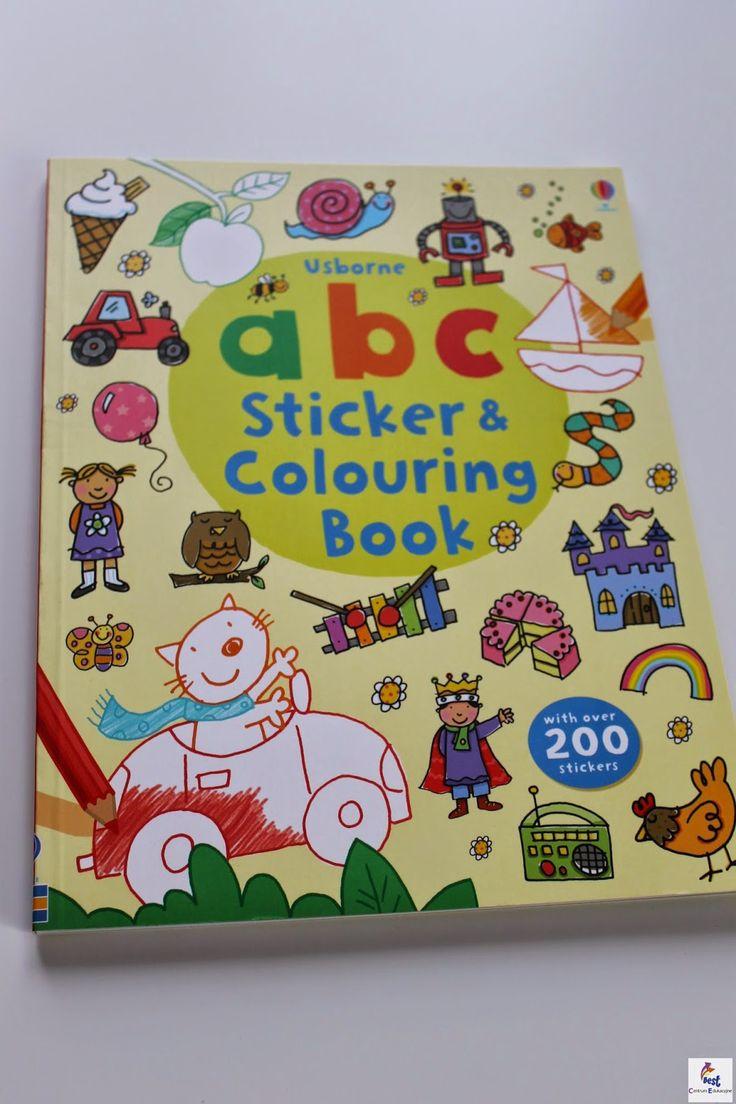 Centrum Edukacyjne BEST: Colouring and sticker books, czyli znowu coś na najmłodszych!