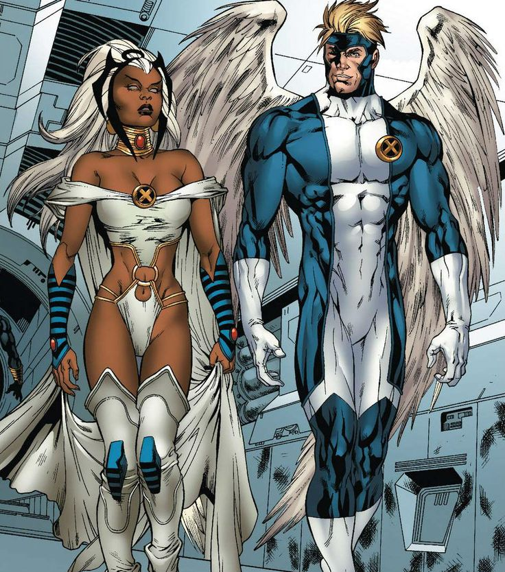 Storm and Angel by Paco Diaz