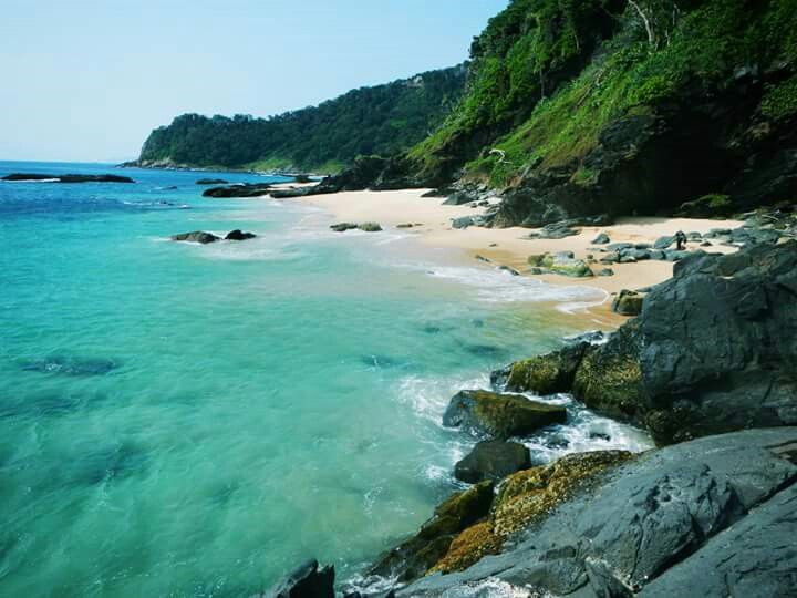Langee Beach, Aceh. Indonesia.