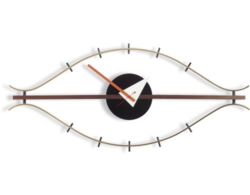 george nelson eye clock  Design George Nelson, 1957  Made in Germany by Vitra