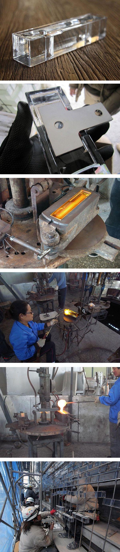 Casa de cristal en Hiroshima, los paves tienen orificios para ser atravesados por varillas metalicas que los sostienen (el problema de las fabricas de ladrillo de vidrio es que el mortero es una mierda y se caen), ver fachada en link: http://www.pinterest.com/pin/486811040943374732/