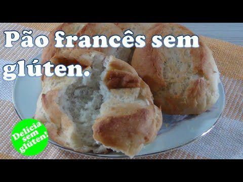 Pão francês sem glúten. Pessoal, fiz a receita do link http://fireandsalt.blogspot.com.br/2009/03/gluten-free-french-bread.html com adaptações de Claúdia Mar...