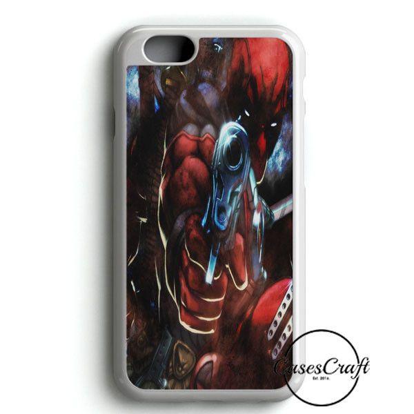Deadpool Face iPhone 6 Plus/6S PlusCase | casescraft