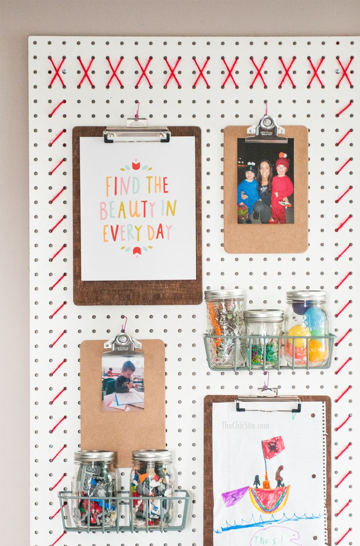 25 Best Ideas About Peg Board Walls On Pinterest