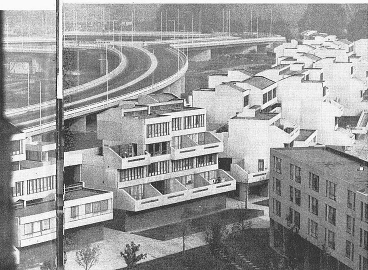 Thamesmead city new town, Erith; by the Greater London Council Architects Department 1965-1986