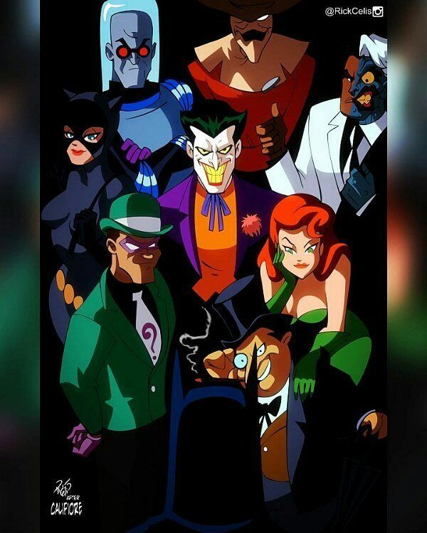 After Califiore #BringBatmanTASback What cover would you like to see next? Comment below. #Batman #twoface #Catwoman #penguin #riddler #joker #scarecrow #mrfreeze #poisonivy #btas #BatmanTas #rebirth #PaulDini #brucetimm #rickcelis