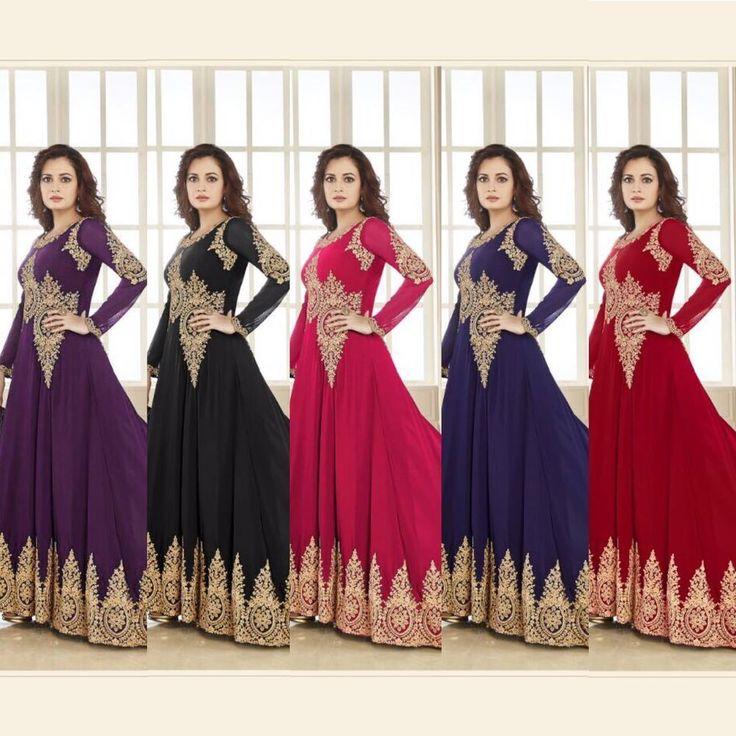 Indian pakistani Bollywood Designer Salwar Kameez anarkali suit dress FASHION 1A #Nikah_786 #Dupatta