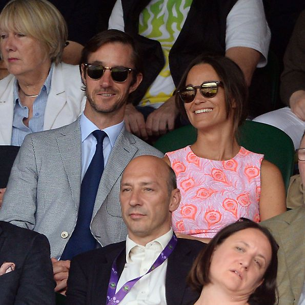 <b>The Engaged Couple</b>  The pair publicly debuted their relationship in July 2016 at Wimbledon - though they were an item long before their courtside date. Pippa and James previously dated in 2012 before rekindling their romance at the end of 2015.  Photo: Anthony Devlin PA Wire/PA Images