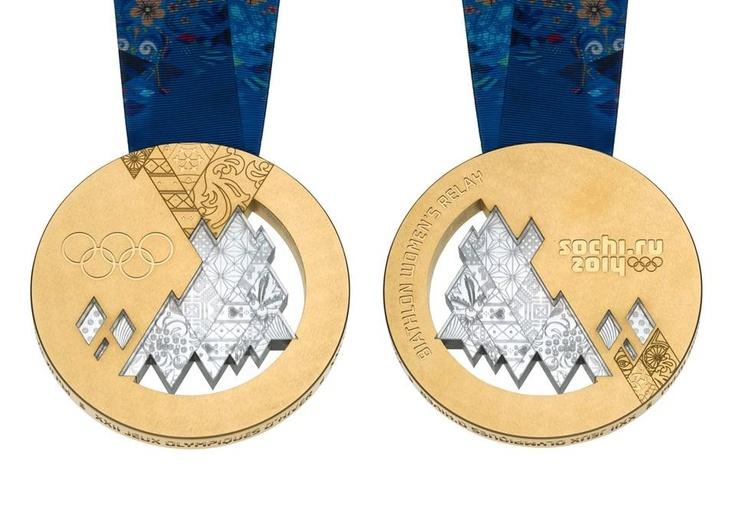 Sochi olympic medals