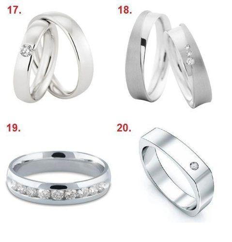 Argollas de Matrimonio Obsequio Diamante 0.03 Ct Certificado