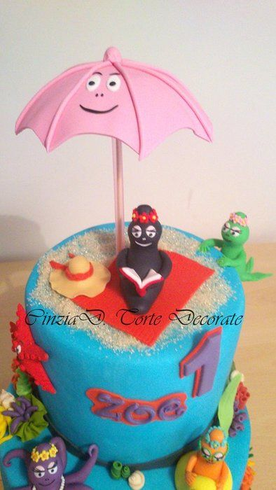 Barbatrucco marino - by CinziaD @ CakesDecor.com - cake decorating website