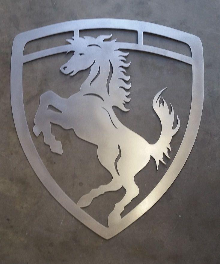 Ferrari Sign from MyPlasmaCutting.com