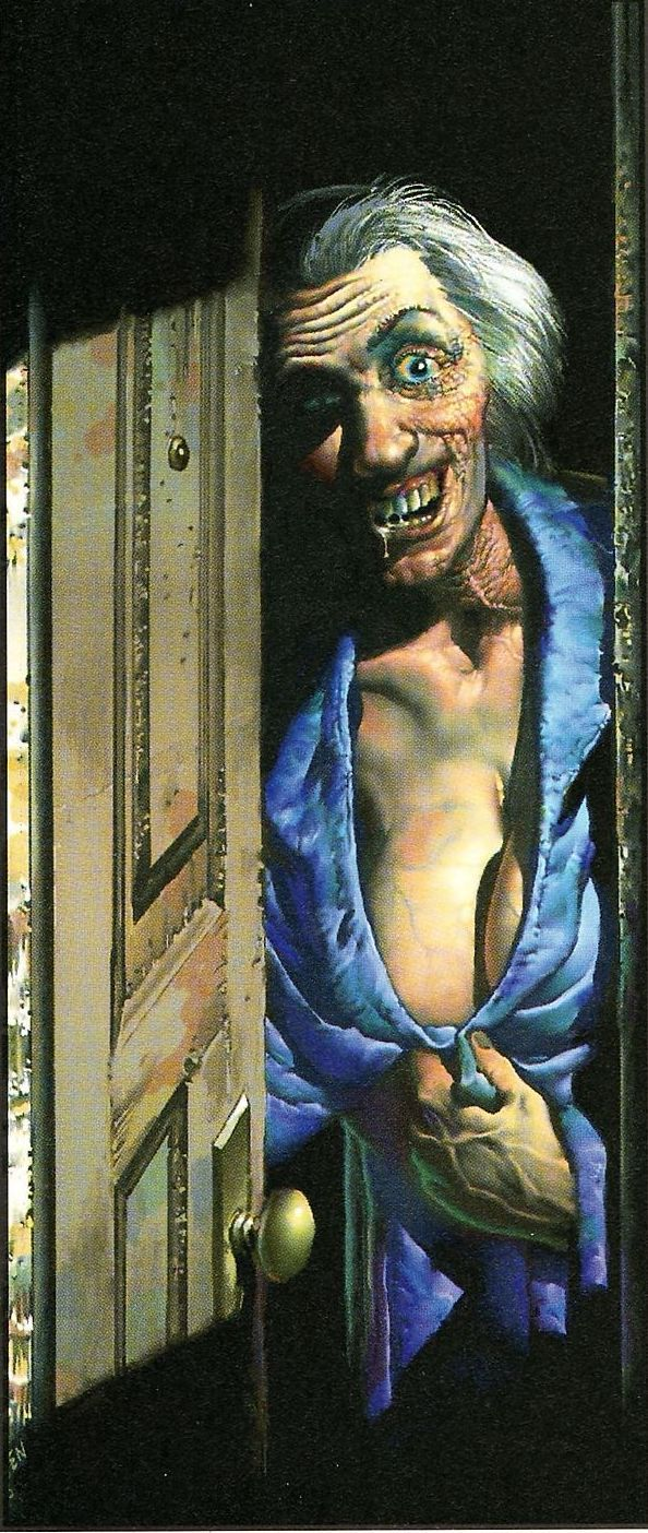 Lusty Granny (1987)  Originally created for Twisted Tales (1987), but first published in Richard Corben's Art Book Volume 2 (1994)
