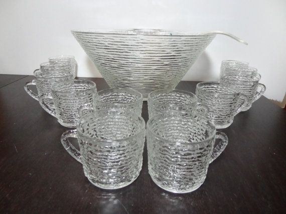 Vintage Anchor Hocking Soreno Clear Glass by DaysLongGoneSalvage