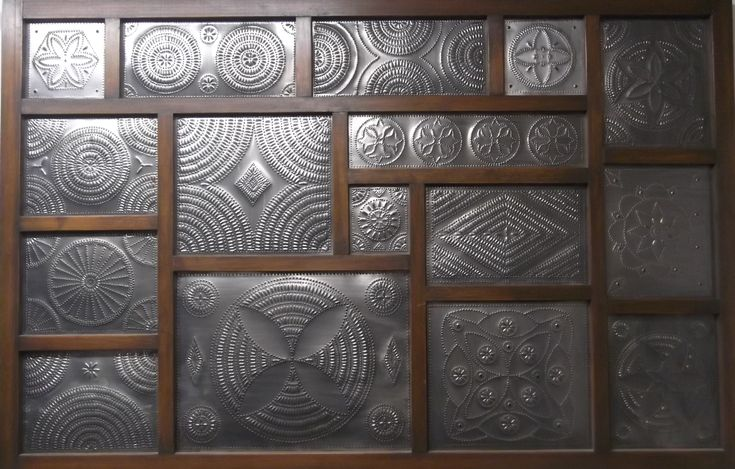 1000 Images About Punched Tin Panels For Cabinets On