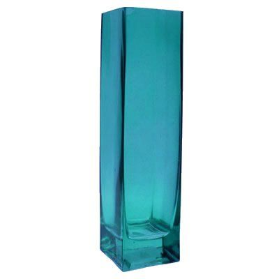 Square Vase with H75 Opening 2 x 2 Blue  Pack of 24 pcs * Want to know more, click on the image.