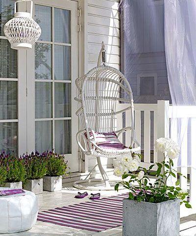 Lavendelterras