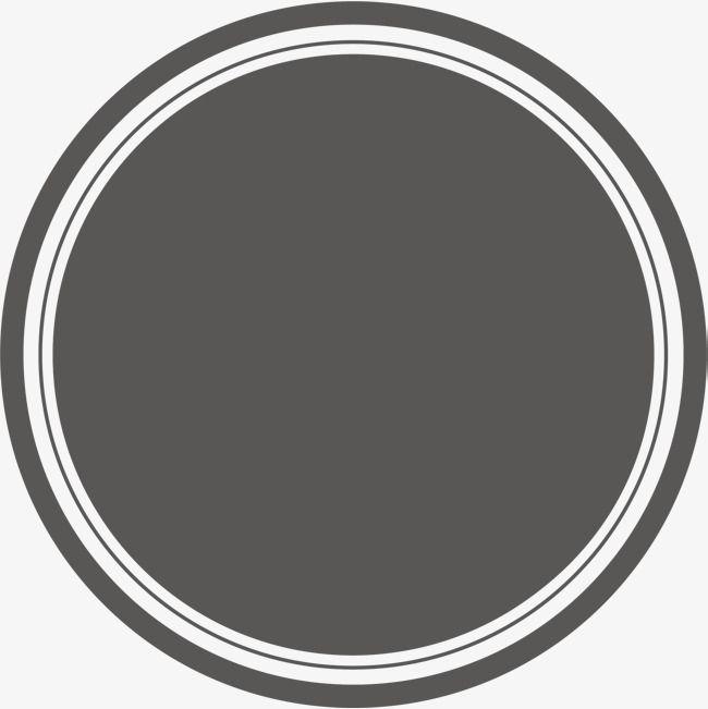 Black Circle Round Material Circle Pretty Circle Png And Vector