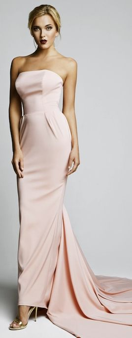 The Millionairess of Pennsylvania:  Pale pink gown is stunning!!