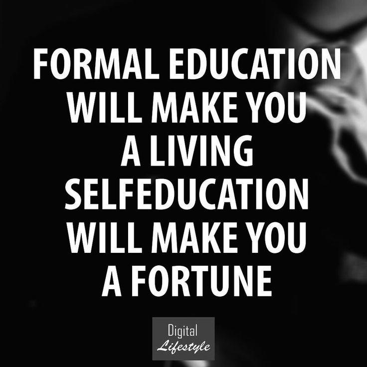 Educate yourself...you will thank yourself later