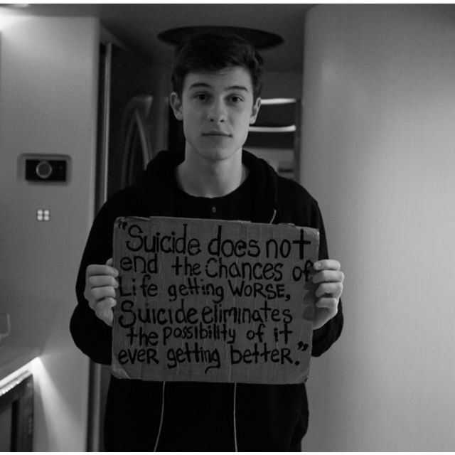 Thanks Shawn. I was once thinking about suicide but all is better thanks to MAGCON