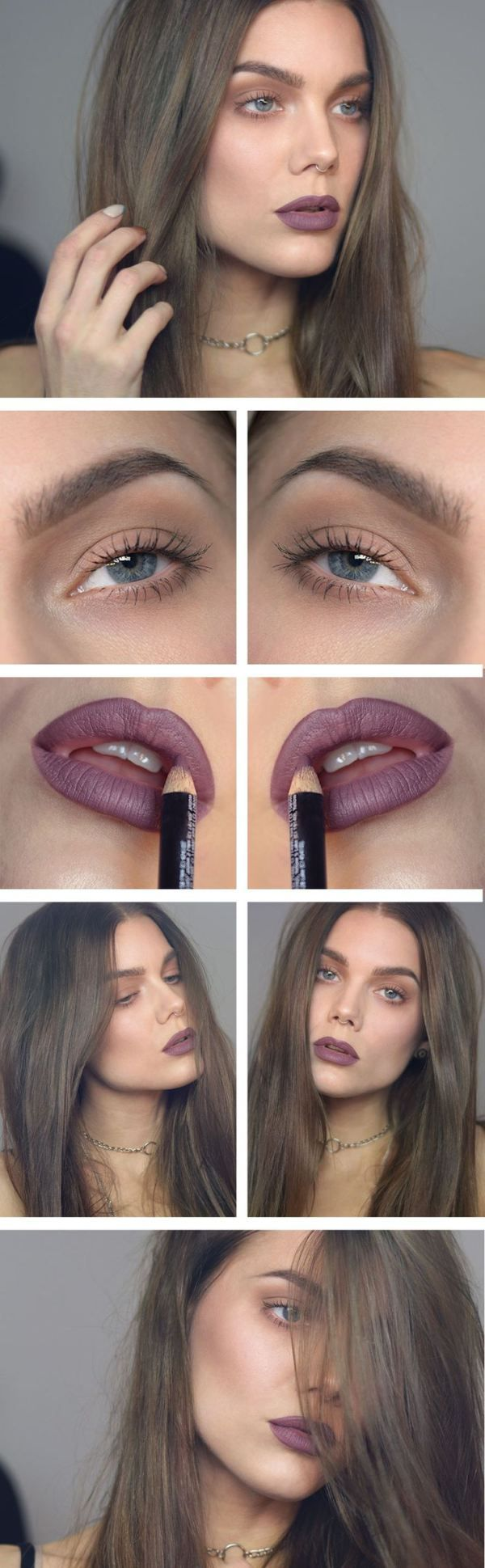 this lip colour!! grunge glam                                                                                                                                                     More