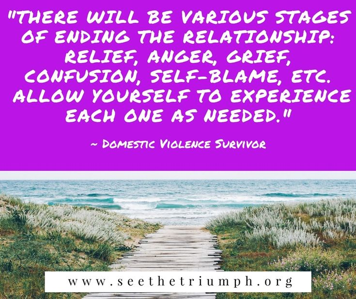 Positive Quotes About Relationships Ending: Stages Of Ending An Abusive Relationship