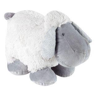 Peluche mouton bleu Pompon 30€