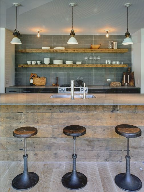 Modern Kitchen Design Ideas, Pictures, Remodel and Decor Open shelving