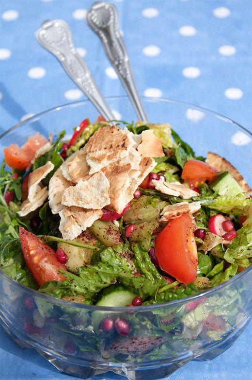 Fattoush Salad | Greedy Gourmet
